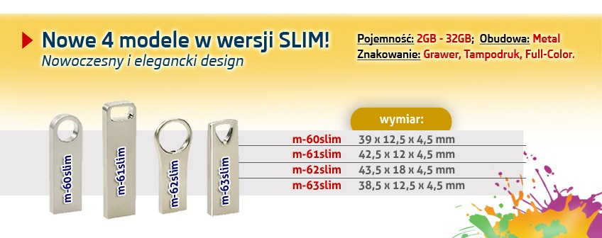 Nowe 4 modele w wersji SLIM